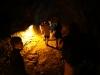Evan in the Thurston lava tube