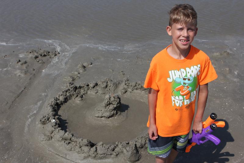 Sand masterpiece