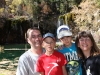 Family at Hanging Lake