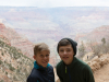 The boys on Bright Angel Trail
