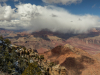 Storm blows over Grand Canyon
