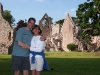 Chris & Lara at Melrose Abbey