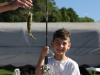 Evan\'s first fish