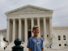 Alex doles out justice at the Supreme Court