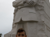 Evan at the MLK Jr. Memorial