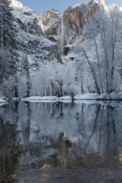 Frosty Yosemite Fall