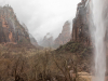 Zion canyon from Weeping Rock