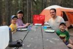 Camping at Turquoise Lake