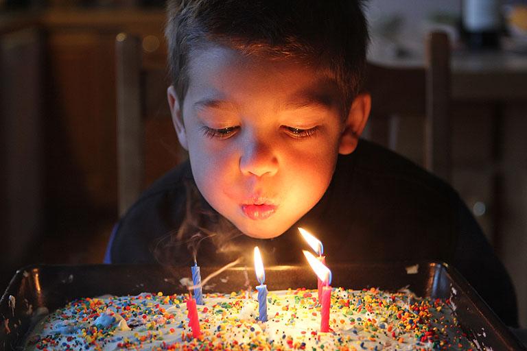 Evan Turns Five