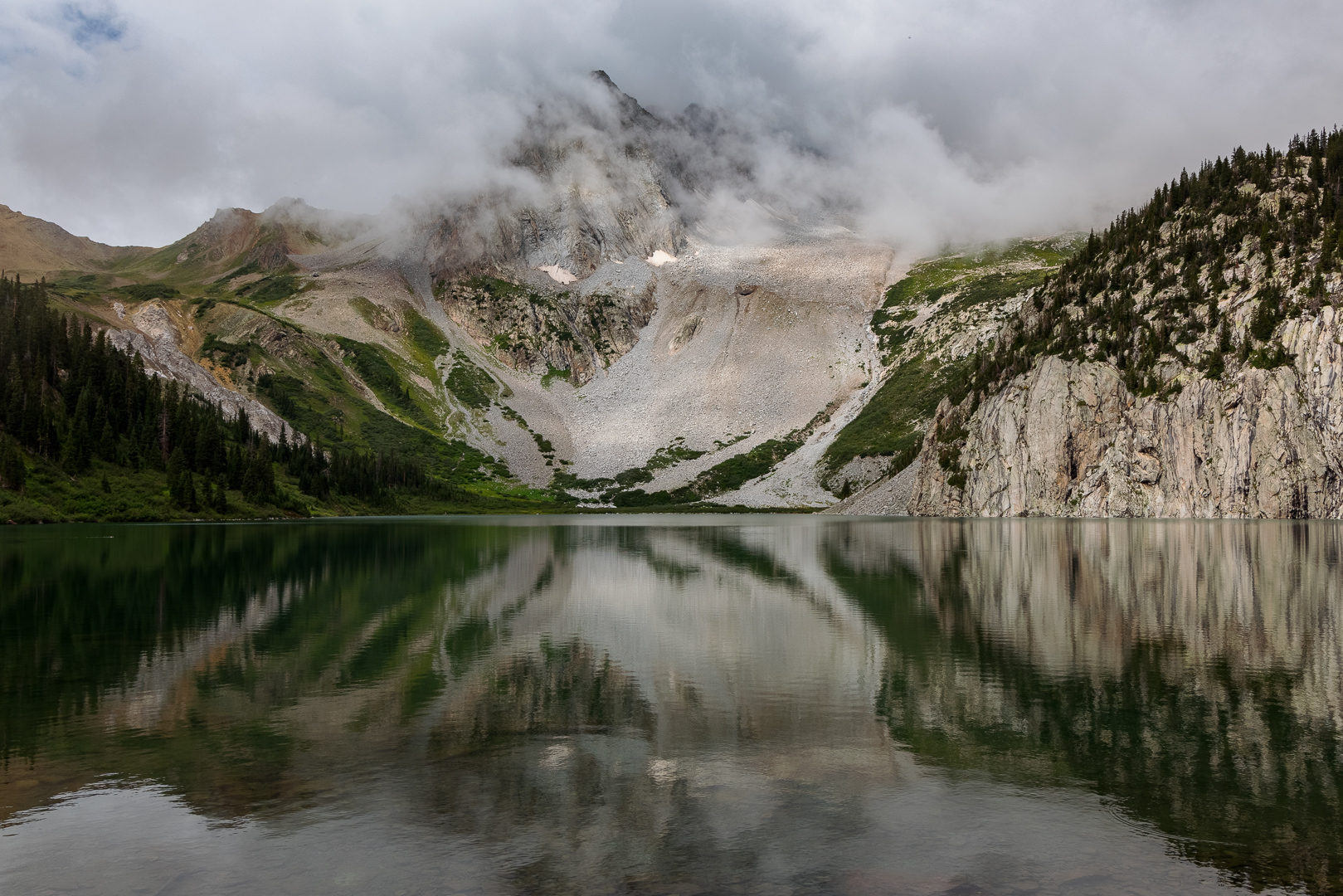 Backpacking to Snowmass Lake